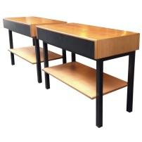 paire-de-table-de-chevet-années-60